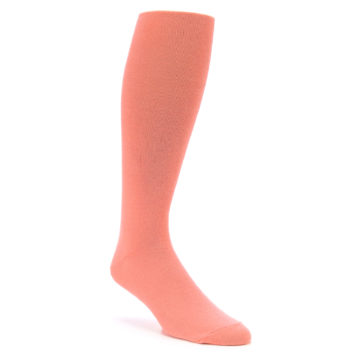 Coral Reef Over the Calf Men's Dress Socks