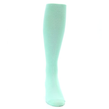 Image of Mint Solid Men's Over-the-Calf Dress Socks (front-04)