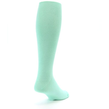 Image of Mint Solid Men's Over-the-Calf Dress Socks (side-1-back-21)