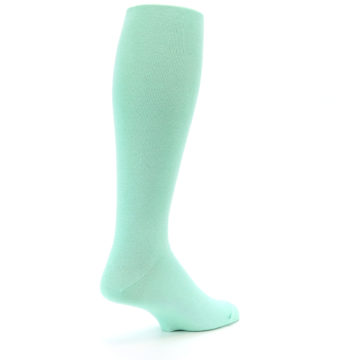 Image of Mint Solid Men's Over-the-Calf Dress Socks (side-1-back-22)