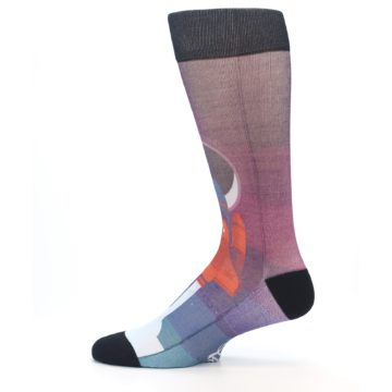 Image of Space Ship Launch Men's Casual Socks (side-2-12)