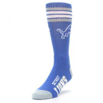 Image of Detroit Lions Men's Athletic Crew Socks (side-2-front-07)