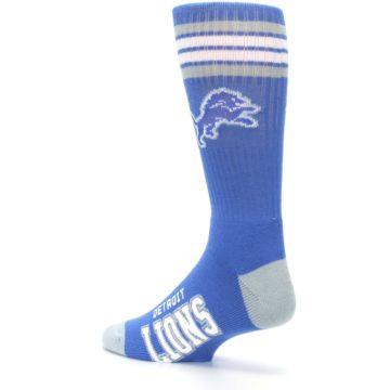 Image of Detroit Lions Men's Athletic Crew Socks (side-2-back-14)