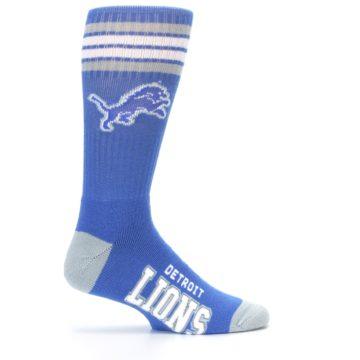 Image of Detroit Lions Men's Athletic Crew Socks (side-1-24)