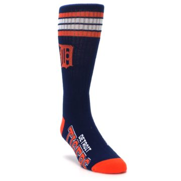 Image of Detroit Tigers Men's Athletic Crew Socks (side-1-front-02)