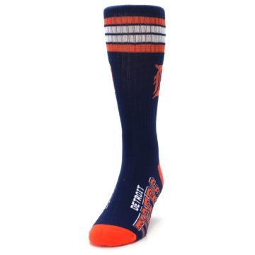 Image of Detroit Tigers Men's Athletic Crew Socks (side-2-front-06)