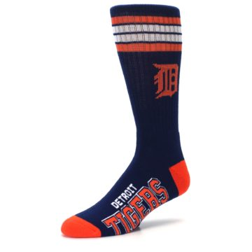 Image of Detroit Tigers Men's Athletic Crew Socks (side-2-09)