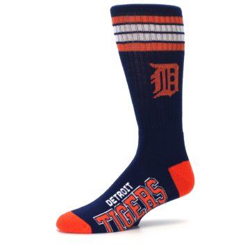 Image of Detroit Tigers Men's Athletic Crew Socks (side-2-10)