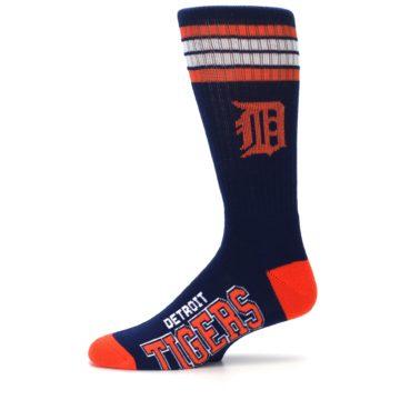 Image of Detroit Tigers Men's Athletic Crew Socks (side-2-11)