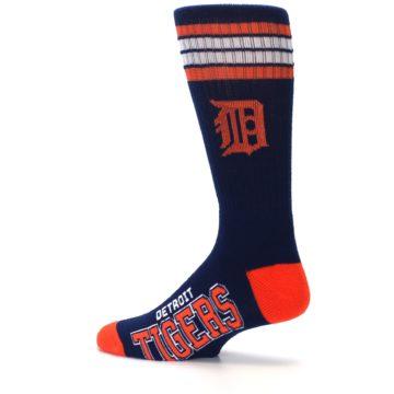 Image of Detroit Tigers Men's Athletic Crew Socks (side-2-13)