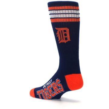 Image of Detroit Tigers Men's Athletic Crew Socks (side-2-back-14)