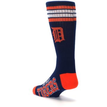Image of Detroit Tigers Men's Athletic Crew Socks (side-2-back-15)