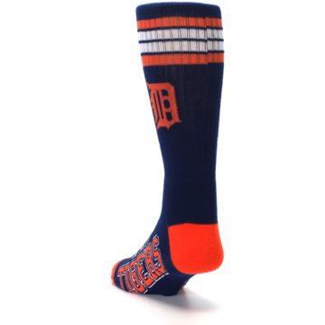 Image of Detroit Tigers Men's Athletic Crew Socks (side-2-back-16)