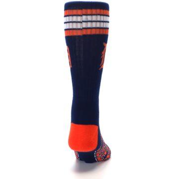 Image of Detroit Tigers Men's Athletic Crew Socks (back-19)