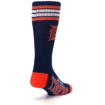 Image of Detroit Tigers Men's Athletic Crew Socks (side-1-back-21)