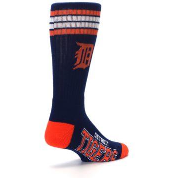 Image of Detroit Tigers Men's Athletic Crew Socks (side-1-back-22)