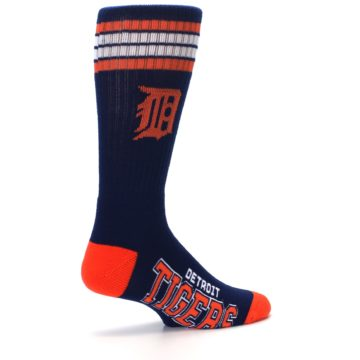 Image of Detroit Tigers Men's Athletic Crew Socks (side-1-23)