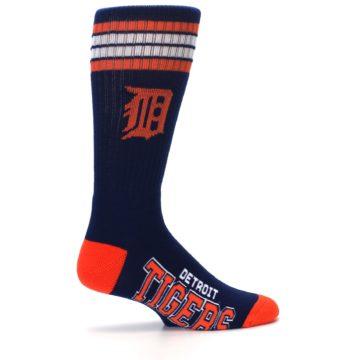 Image of Detroit Tigers Men's Athletic Crew Socks (side-1-24)