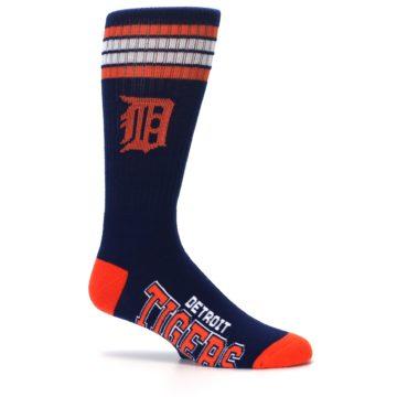 Image of Detroit Tigers Men's Athletic Crew Socks (side-1-25)
