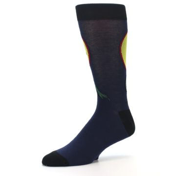 Image of T-Rex Dinosaur Men's Dress Socks (side-2-09)