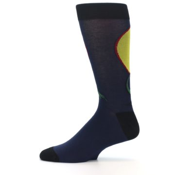 Image of T-Rex Dinosaur Men's Dress Socks (side-2-11)