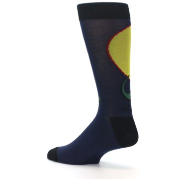 Image of T-Rex Dinosaur Men's Dress Socks (side-2-13)