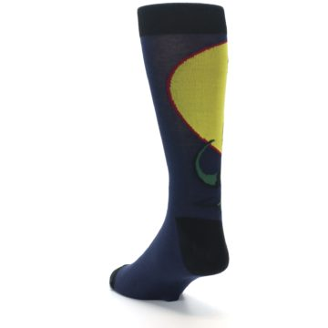 Image of T-Rex Dinosaur Men's Dress Socks (side-2-back-15)