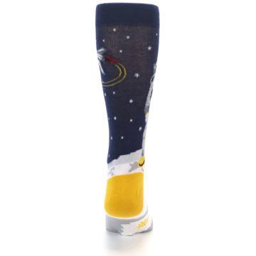 Image of Moon Astronaut Men's Dress Socks (back-18)