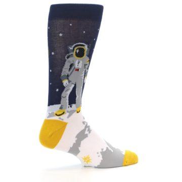 Image of Moon Astronaut Men's Dress Socks (side-1-23)