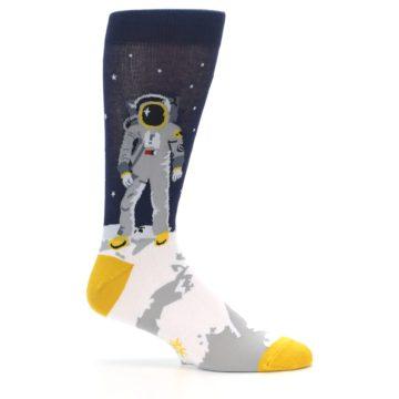 Image of Moon Astronaut Men's Dress Socks (side-1-25)