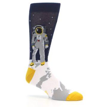 Image of Moon Astronaut Men's Dress Socks (side-1-26)