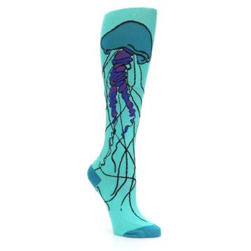 Image of Jellyfish Women's Knee High Sock (side-1-27)