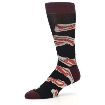 Image of Bacon Men's Dress Socks (side-2-09)