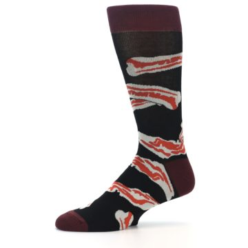 Image of Bacon Men's Dress Socks (side-2-10)