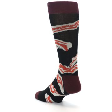 Image of Bacon Men's Dress Socks (side-2-back-14)