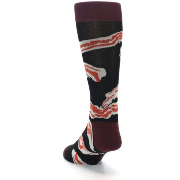 Image of Bacon Men's Dress Socks (side-2-back-15)