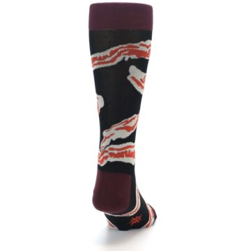 Image of Bacon Men's Dress Socks (back-18)