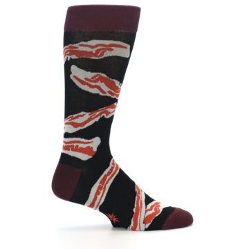 Image of Bacon Men's Dress Socks (side-1-23)