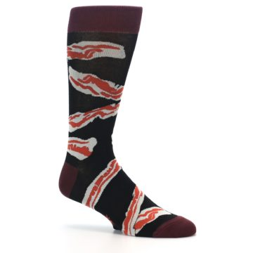 Image of Bacon Men's Dress Socks (side-1-25)