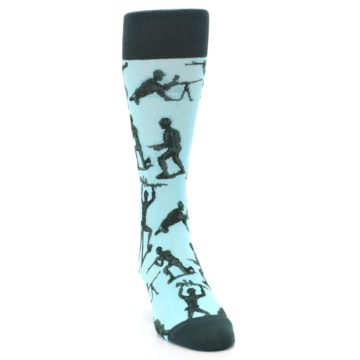 Image of Toy Army Figures Men's Dress Socks (side-1-front-03)