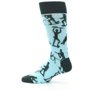 Image of Toy Army Figures Men's Dress Socks (side-2-12)