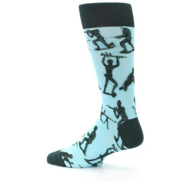 Image of Toy Army Figures Men's Dress Socks (side-2-13)