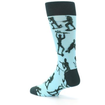Image of Toy Army Figures Men's Dress Socks (side-2-back-14)