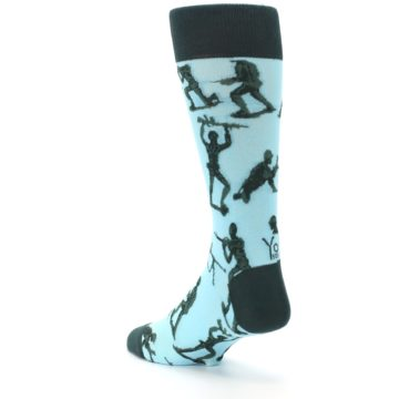 Image of Toy Army Figures Men's Dress Socks (side-2-back-15)