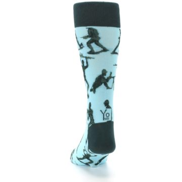 Image of Toy Army Figures Men's Dress Socks (back-17)