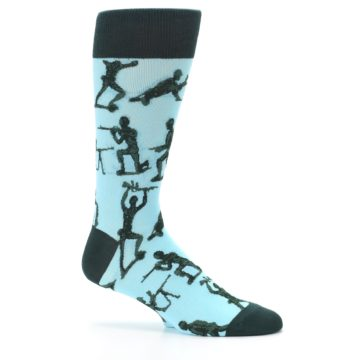 Image of Toy Army Figures Men's Dress Socks (side-1-25)
