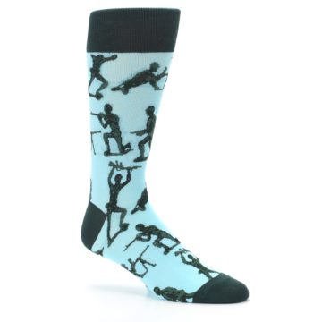 Image of Toy Army Figures Men's Dress Socks (side-1-26)