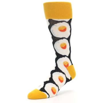 Image of Eggs Men's Dress Socks (side-2-09)