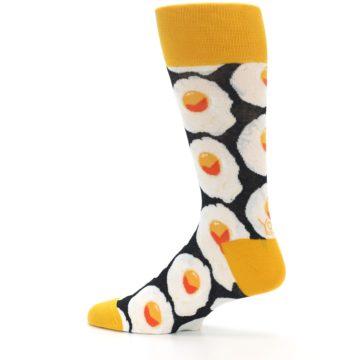 Image of Eggs Men's Dress Socks (side-2-13)