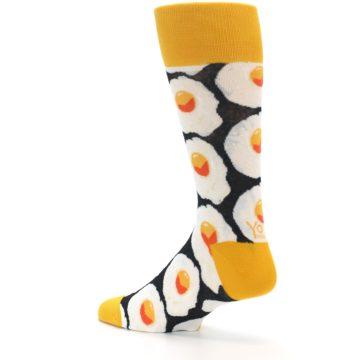 Image of Eggs Men's Dress Socks (side-2-back-14)